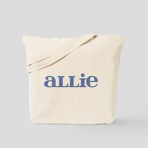 Allie Blue Glass Tote Bag