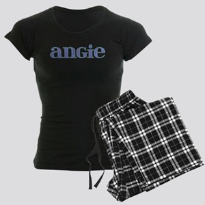 Angie Blue Glass Women's Dark Pajamas