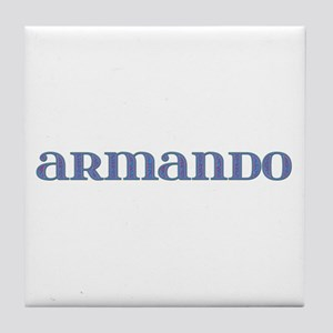 Armando Carved Metal Tile Coaster