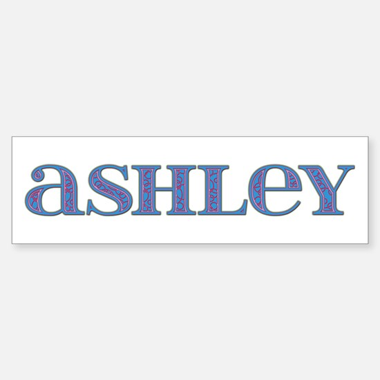 Ashley Carved Metal Bumper Bumper Bumper Sticker