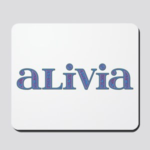 Alivia Carved Metal Mousepad