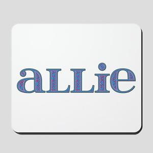 Allie Carved Metal Mousepad