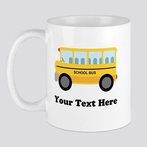 School Bus Personalized Mug