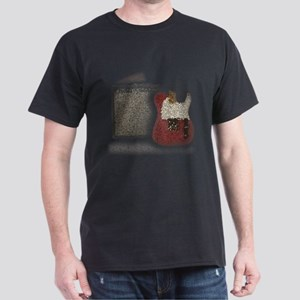 Guitar & Amp Mosaic Dark T-Shirt