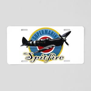 Spitfire Aluminum License Plate