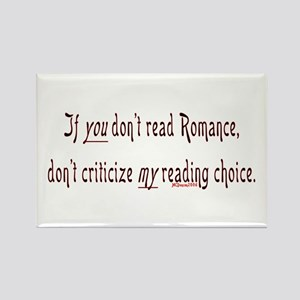 If you don't read romance... Rectangle Magnet