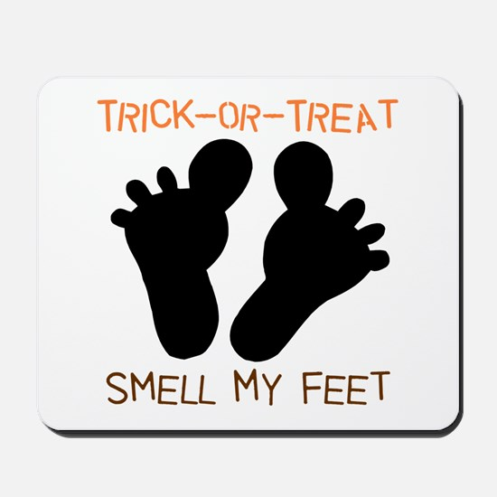 Smell My Feet Halloween Mousepad