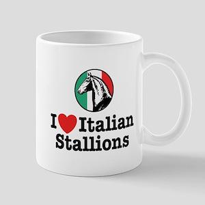 I Love Italian Stallions Mug