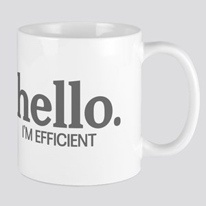 Hello I'm efficient Mug