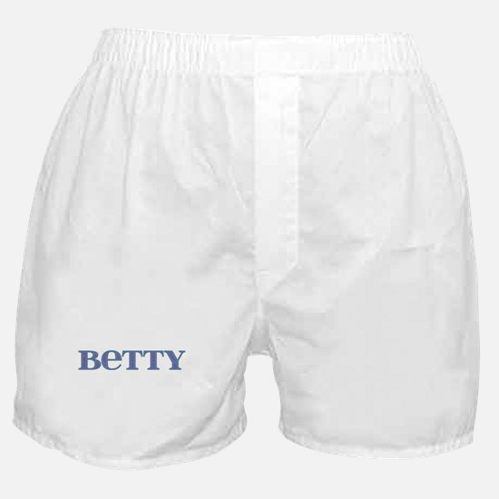 Betty Blue Glass Boxer Shorts