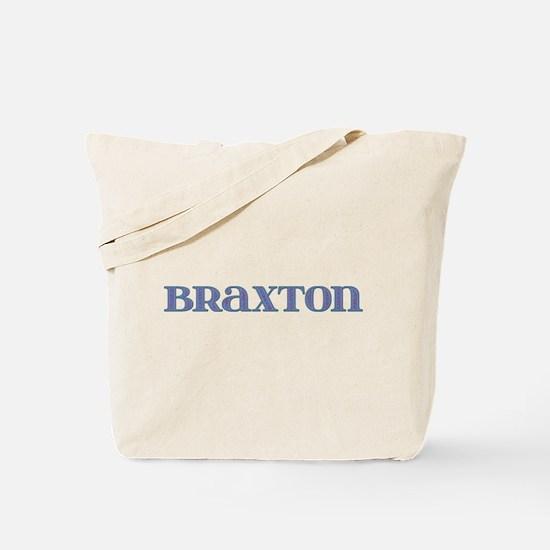 Braxton Blue Glass Tote Bag