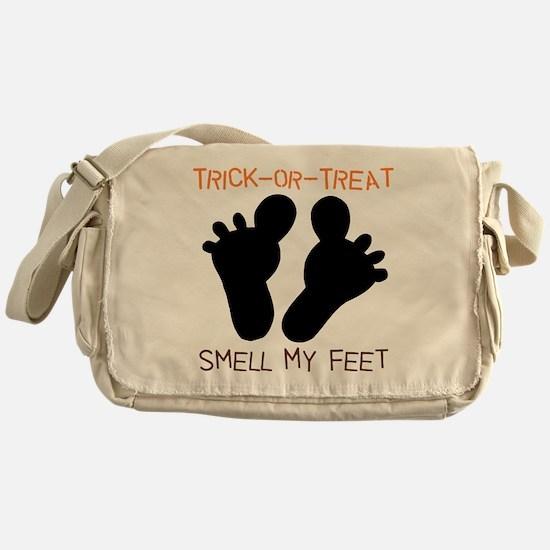 Smell My Feet Halloween Messenger Bag