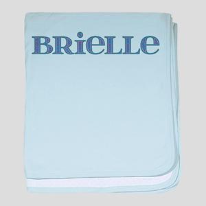 Brielle Blue Glass baby blanket