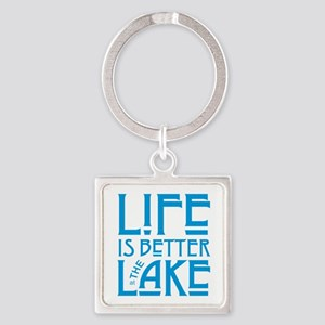 Life is Better at the Lake Keychains