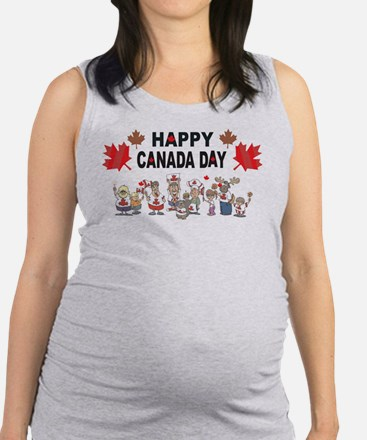Happy Canada Day Tank Top