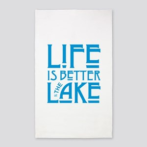Life is Better at the Lake Area Rug