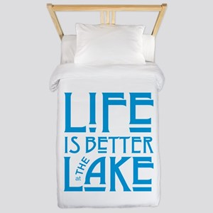 Life is Better at the Lake Twin Duvet Cover