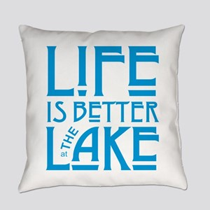 Life is Better at the Lake Everyday Pillow