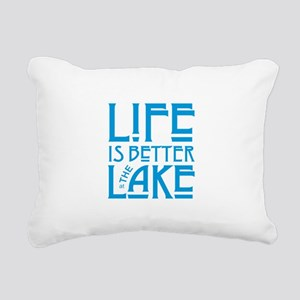 Life is Better at the La Rectangular Canvas Pillow