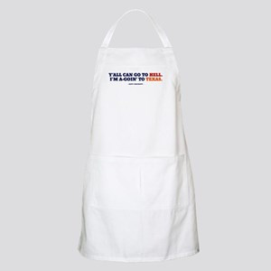 Y'all can go to OU.  BBQ Apron