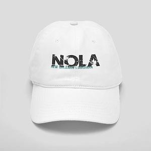 NOLA New Orleans Turquoise Gray Cap