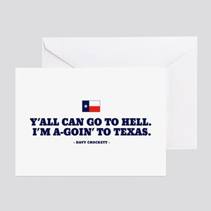 Fuck yall im from texas greeting cards cafepress greeting cards package of m4hsunfo