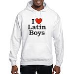 I Love Latin boys Hooded Sweatshirt