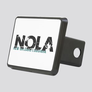 NOLA New Orleans Turquoise Rectangular Hitch Cover