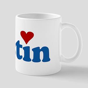 i love austin Mug