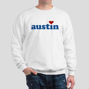 i love austin Sweatshirt