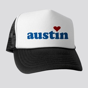 i love austin Trucker Hat