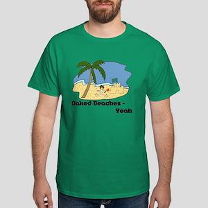 Naked Beaches - Yeah! Dark T-Shirt