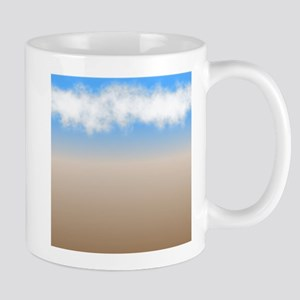 Cloudy Beach Mugs