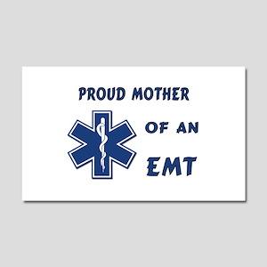 Proud Mother of an EMT Car Magnet 20 x 12