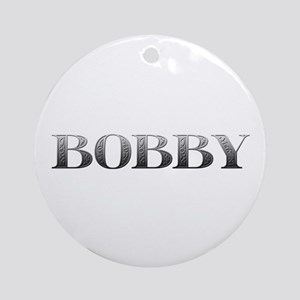 Bobby Carved Metal Round Ornament