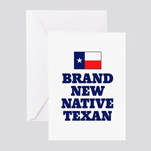 Native Texan Baby Greeting Cards (Pk of 10)