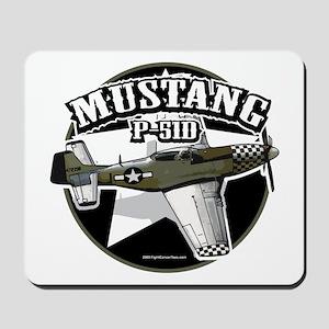 Mustang P51-D Mousepad