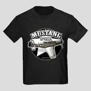 Mustang P51-D Kids Dark T-Shirt