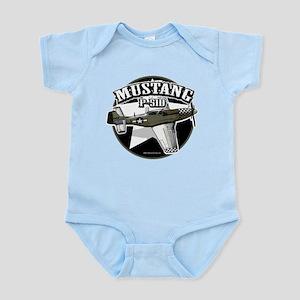 Mustang P51-D Infant Bodysuit