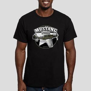 Mustang P51-D Men's Fitted T-Shirt (dark)