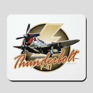 Thunderbolt P-47 Mousepad