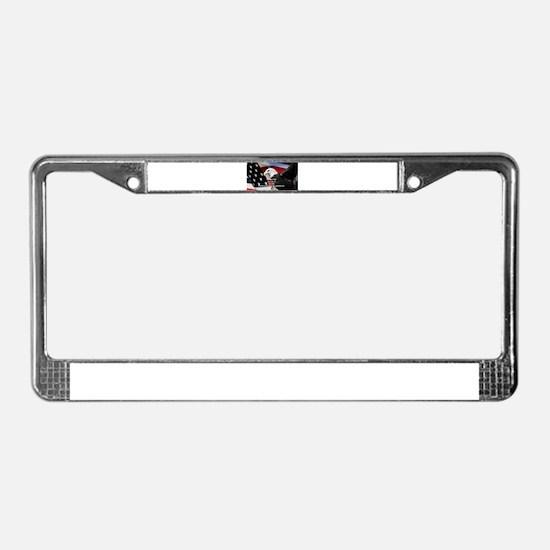 Cute Honor License Plate Frame