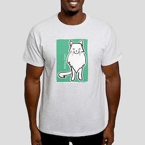 Maine Coon Cat Light T-Shirt