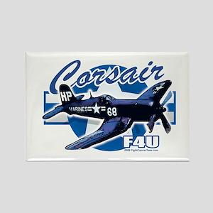 Corsair F4U Rectangle Magnet
