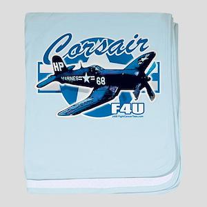 Corsair F4U baby blanket
