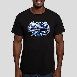 Corsair F4U Men's Fitted T-Shirt (dark)