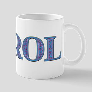 Carol Blue Glass Mug