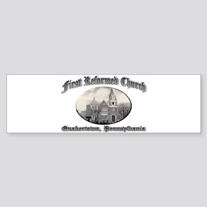 First Reformed Church Sticker (Bumper)