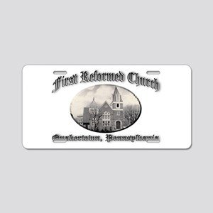 First Reformed Church Aluminum License Plate