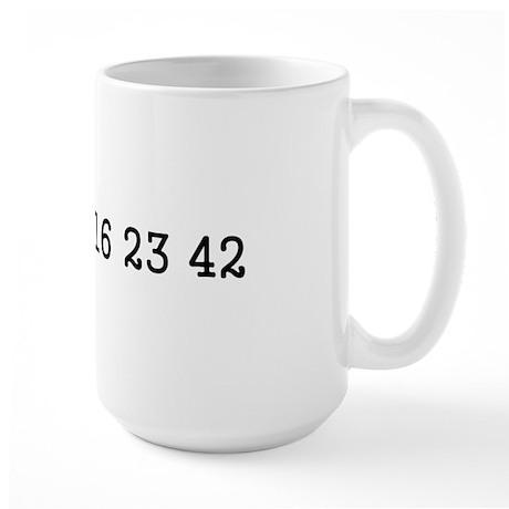 LOST numbers Large Mug